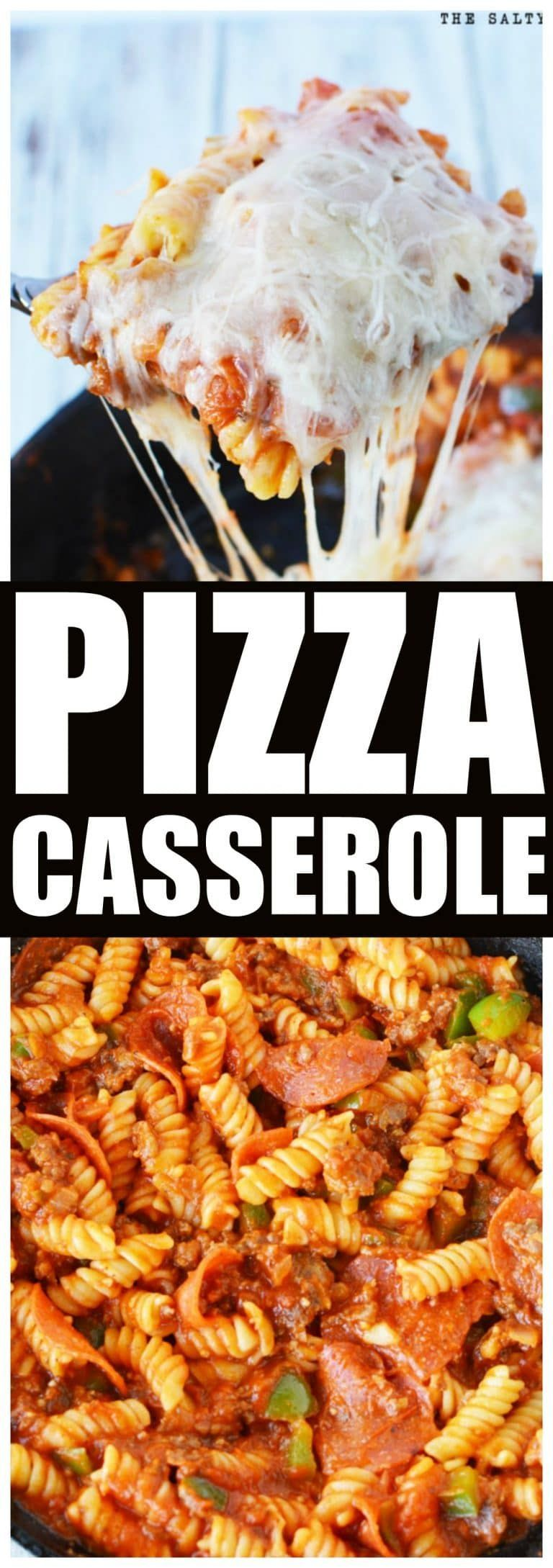 Casserole Pizza Casserole Hot Dish is an incredible pizza flavor that is FAST and EASY for any day of the week. KID FAVORITE!Pizza Casserole Hot Dish is an incredible pizza flavor that is FAST and EASY for any day of the week. KID FAVORITE!