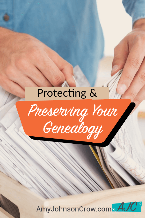 Protecting and Preserving Your Genealogy From Disaster | Genealogy