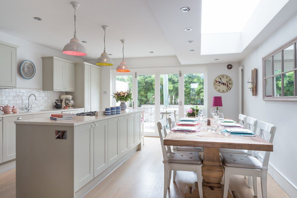Best Farrow And Ball Elephants Breath Kitchen Transitional With 400 x 300