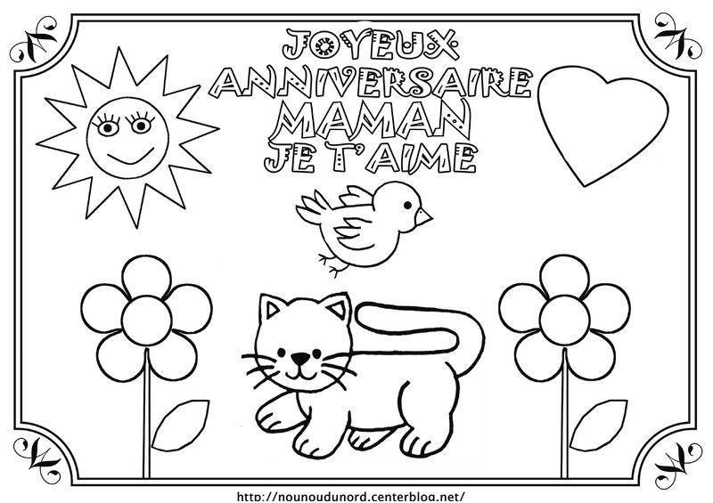 12 Pascher Joyeux Anniversaire Maman Coloriage Image Joyeux Anniversaire Maman Bon Anniversaire Maman Anniversaire Maman
