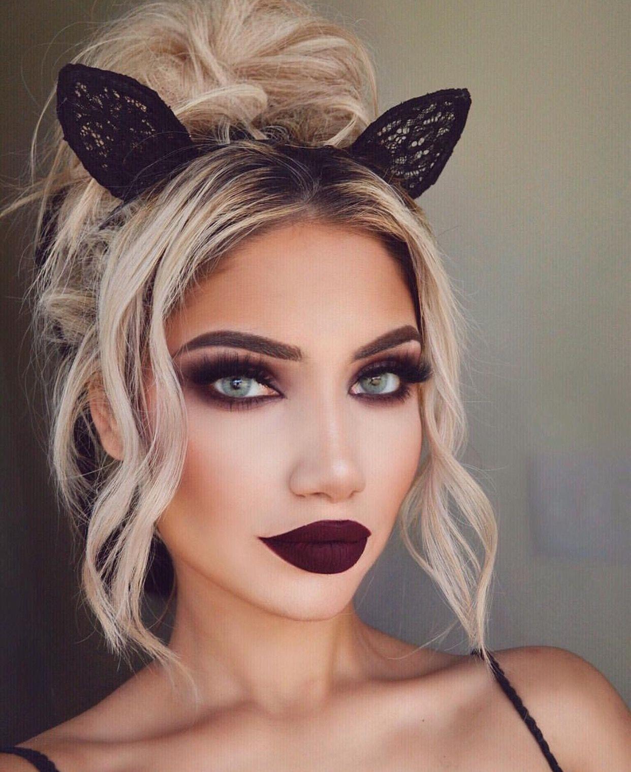 pinterest nandeezy † Hair makeup, Cat halloween