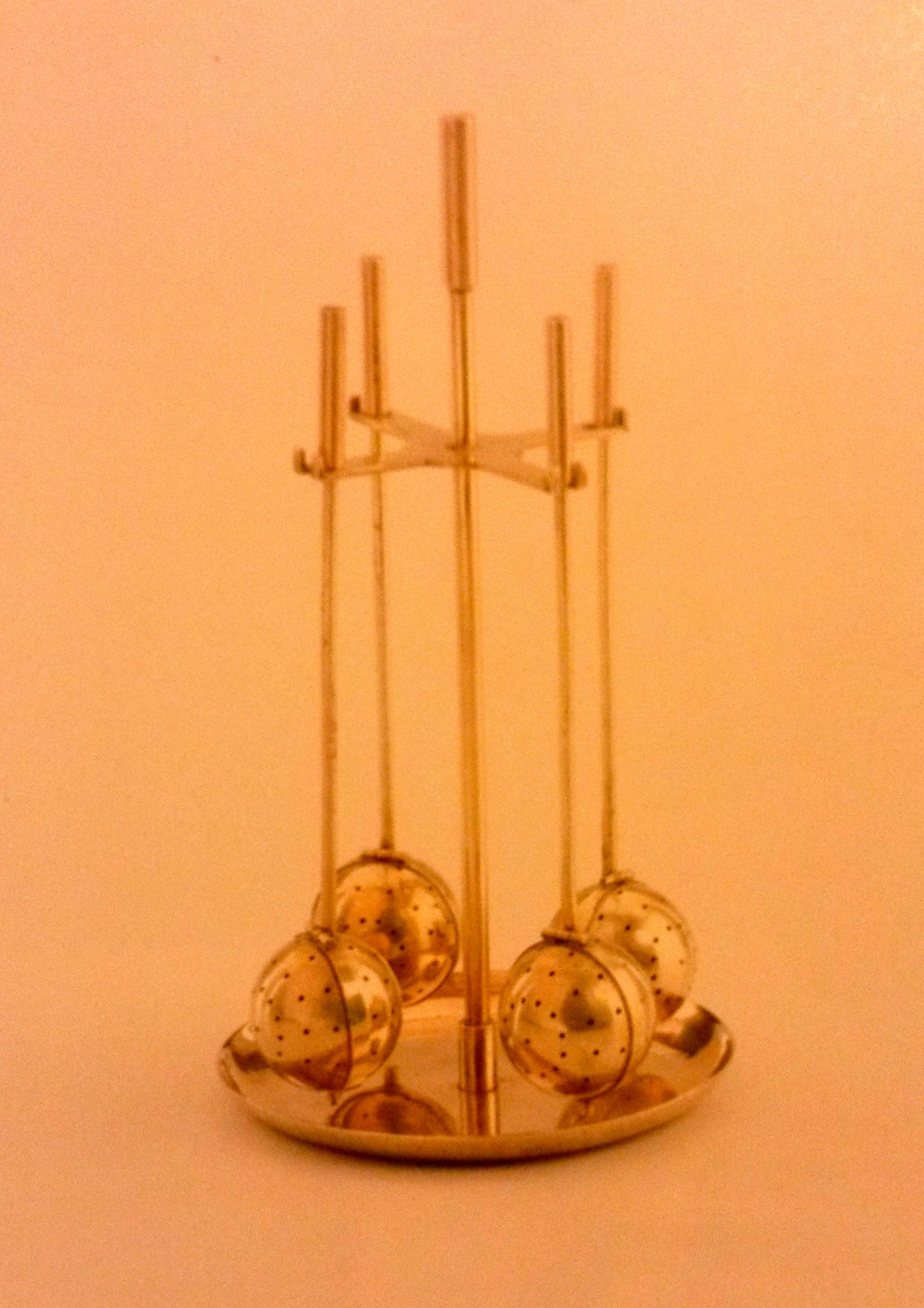 Otto Rittweger And Wolfgang Tumpel Tea Infuser Holder 1924 Mid Century House Place Card Holders Holder