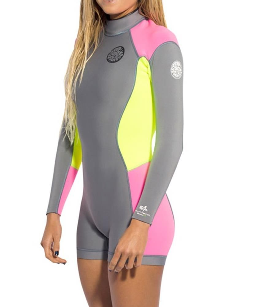 dff8213b44 Rip Curl Dawn Patrol Women s Springsuit Wetsuit Long Sleeve 2mm ...