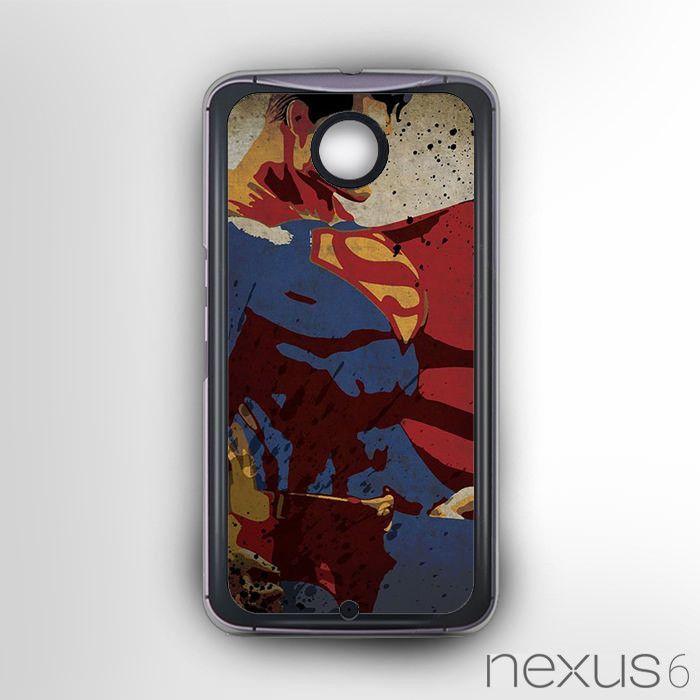 Man of Steel Vector AR for Nexus 6 phonecases