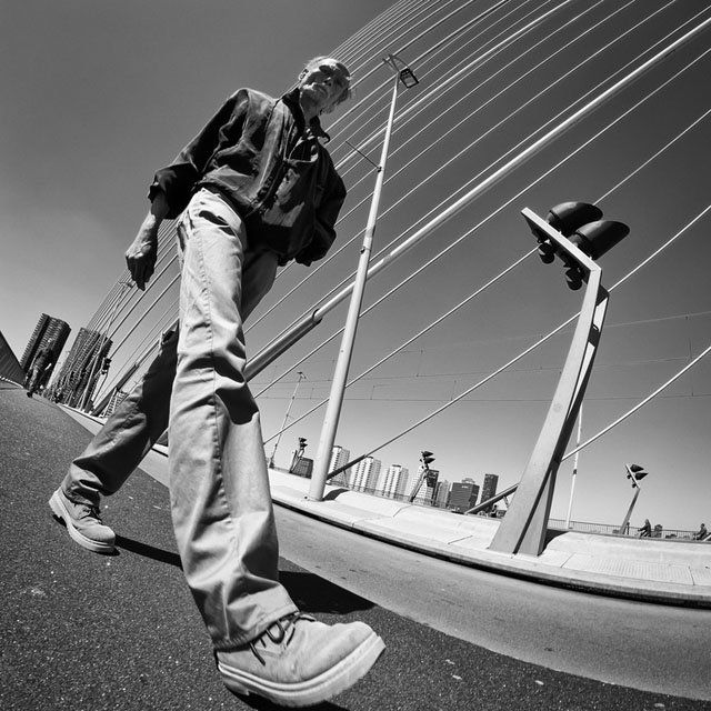 These Street Portraits Were Shot From Below with an Ultra-Wide 8mm Lens