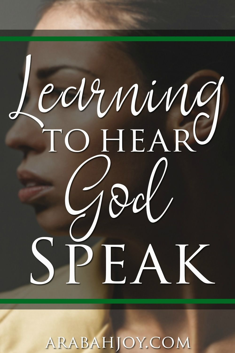 Do you long to hear God speak? Remember these tips as you are learning to hear God speak.