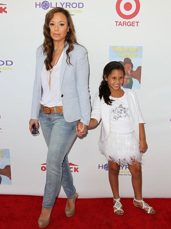 Leah Remini and daughter Sofia Bella Pagán