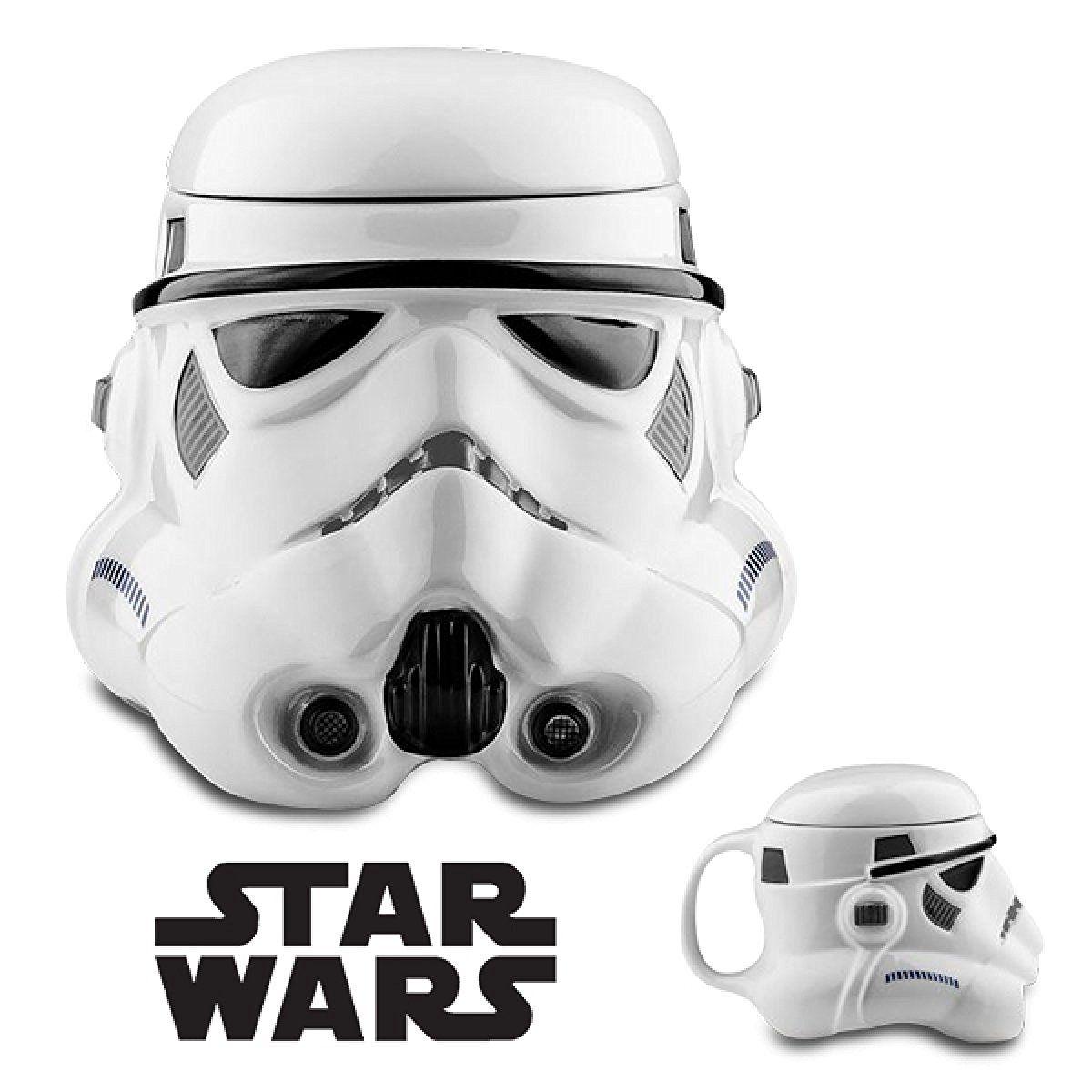 Star Wars 21296 - Storm Trooper 3D-Keramiktasse, 12 x 14 x 15 cm ...