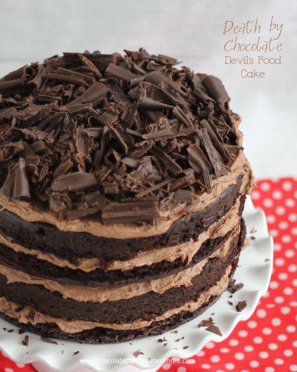 Make rich chocolate cake recipe