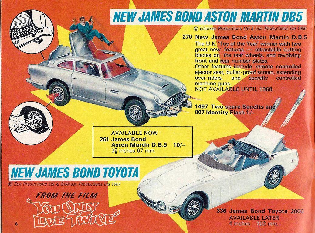 Corgi Toys from Andrew Hill International | TOY CARS | Pinterest ...