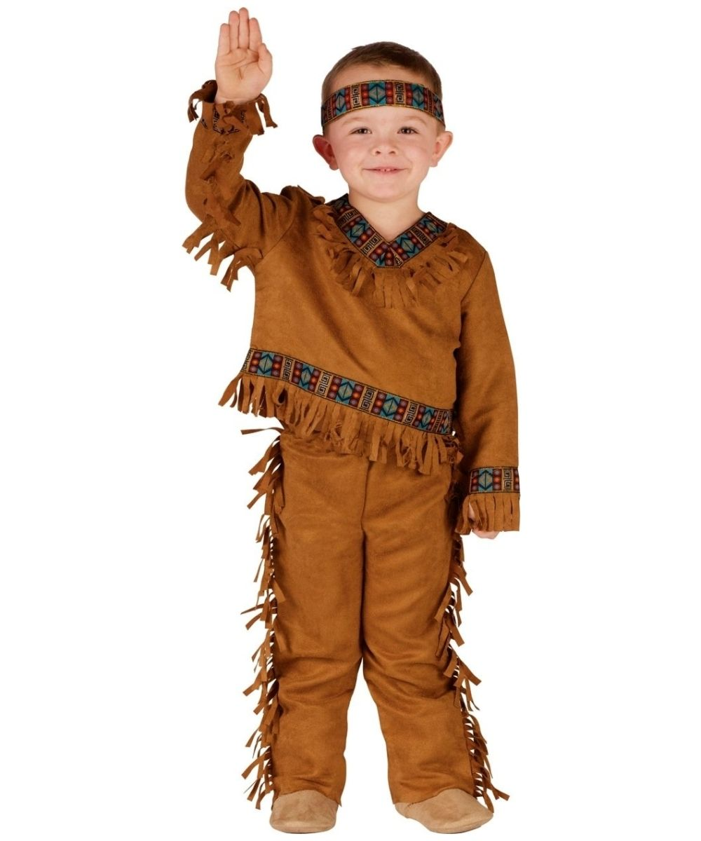 Indian Boys Costume - This Native American Indian Boys Costume has great attention to detail.  sc 1 st  Pinterest & Indian Boys Costume - This Native American Indian Boys Costume has ...