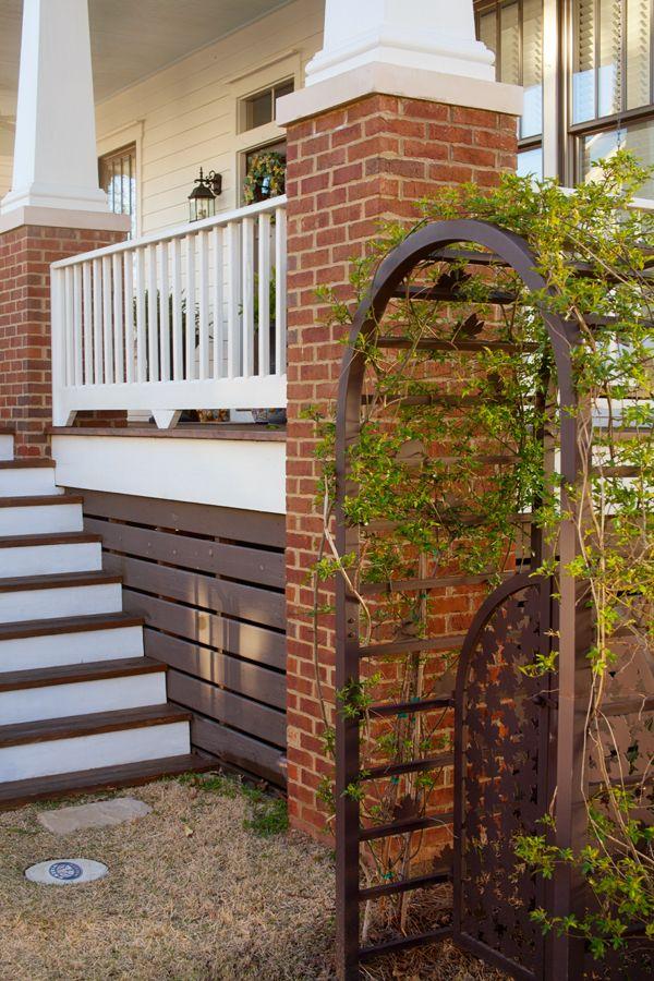 Under House Treatment. Garden Arch
