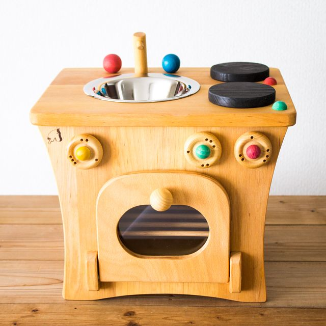 プッペンキッチン ドイツ製 ノルベルト社 木製ままごとキッチン