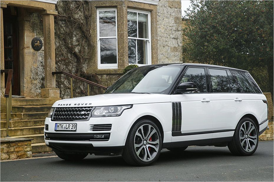 Range Rover SVAutobiography Dynamic 550 hp (With images