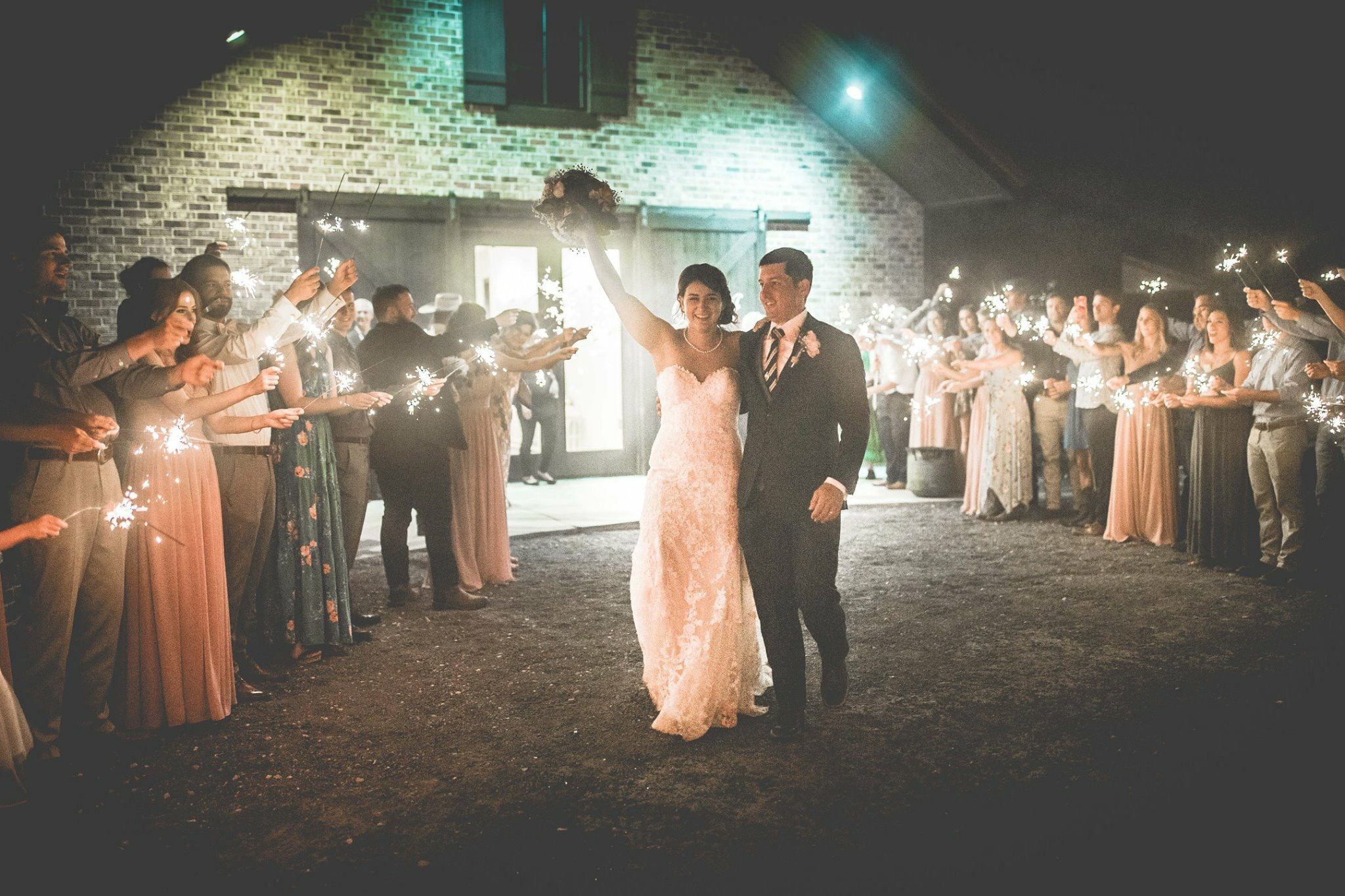 Sparkler Farewell At The Carriage House Conroe Houston Weddings Planned And Coordinated By Invent Affordable Wedding Planner Houston Wedding Wedding Planning