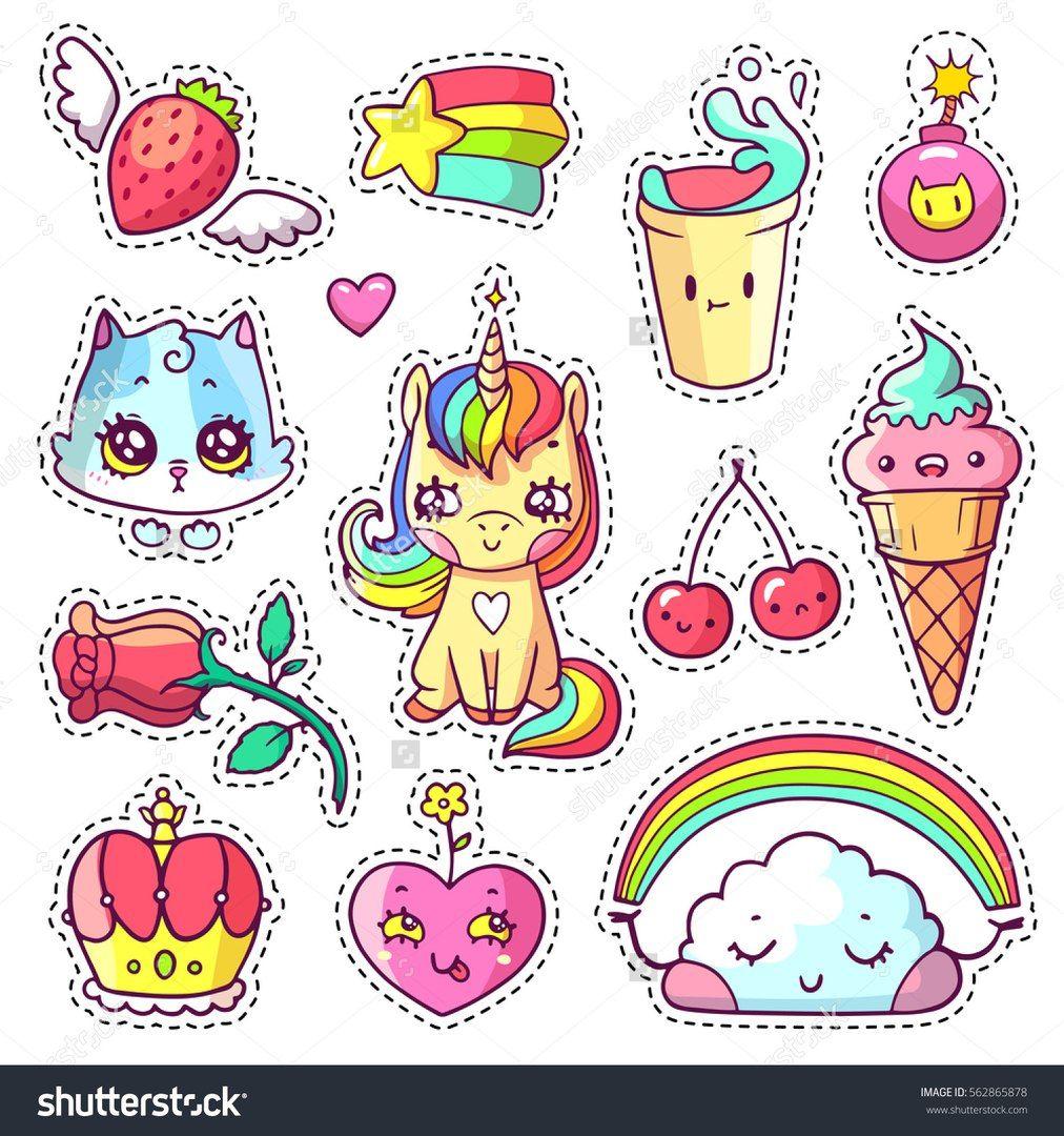 resultado de imagen para etiquetas para imprimir de unicornio para