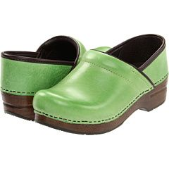 green Danskos | Clogs, Dansko, Leather