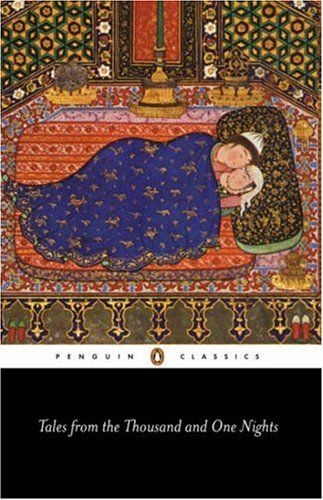 """""""Tales From the Thousand and One Nights"""" - A collection of stories from many authors, some were originally folk stories.  Very Enteraining."""