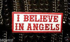 BRAND NEW - I BELIEVE IN ANGELS - 81 SUPPORT PATCH ~ 666 HELLS KNOWN