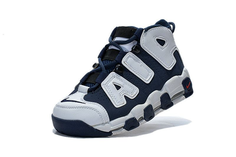 138a99ede924 Nike Air More Uptempo Youth Big Boys Sneaker Olympics USA Navy White ...