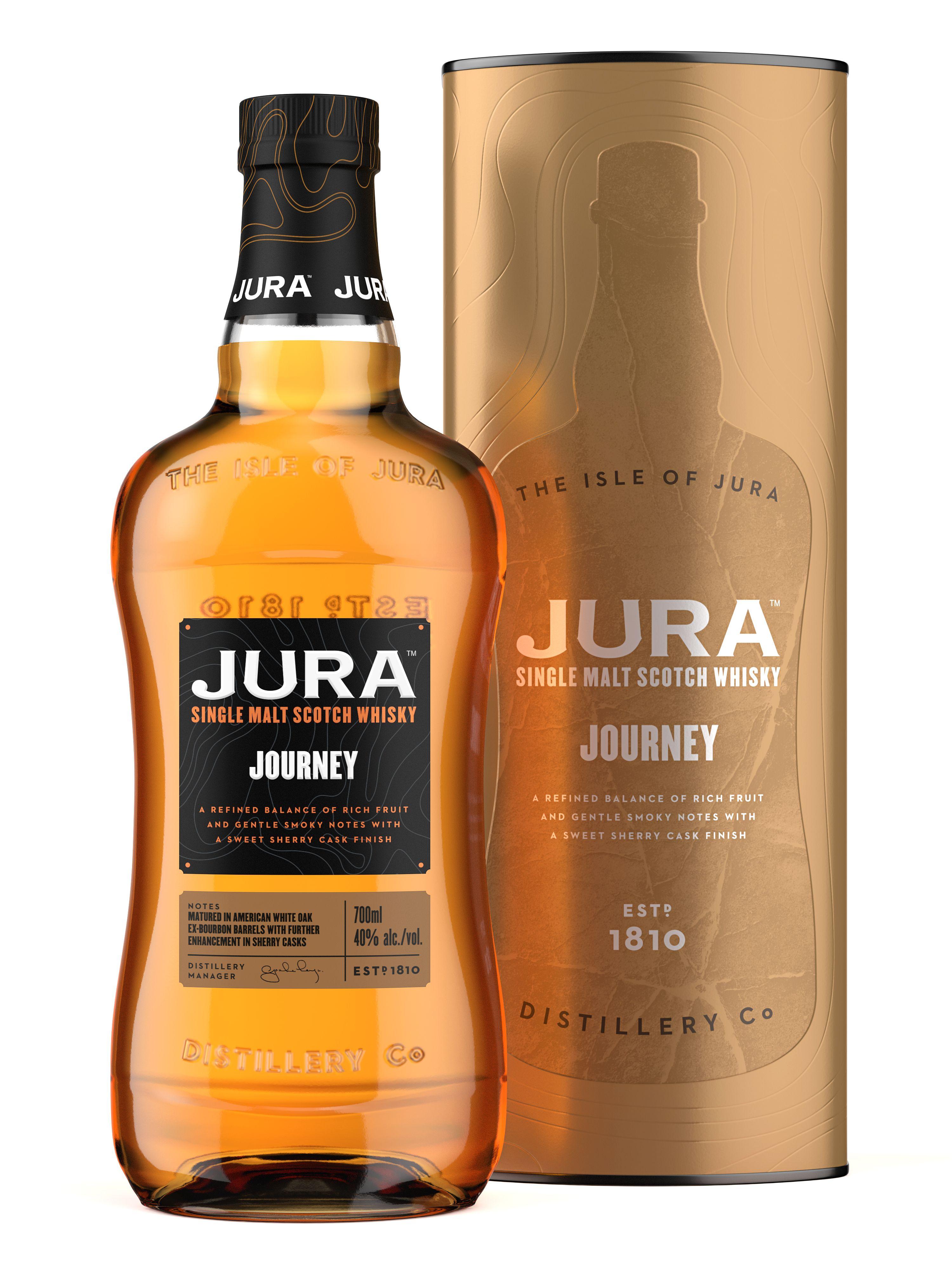 Jura Journey 40 Abv Single Malt Whisky Matured In American
