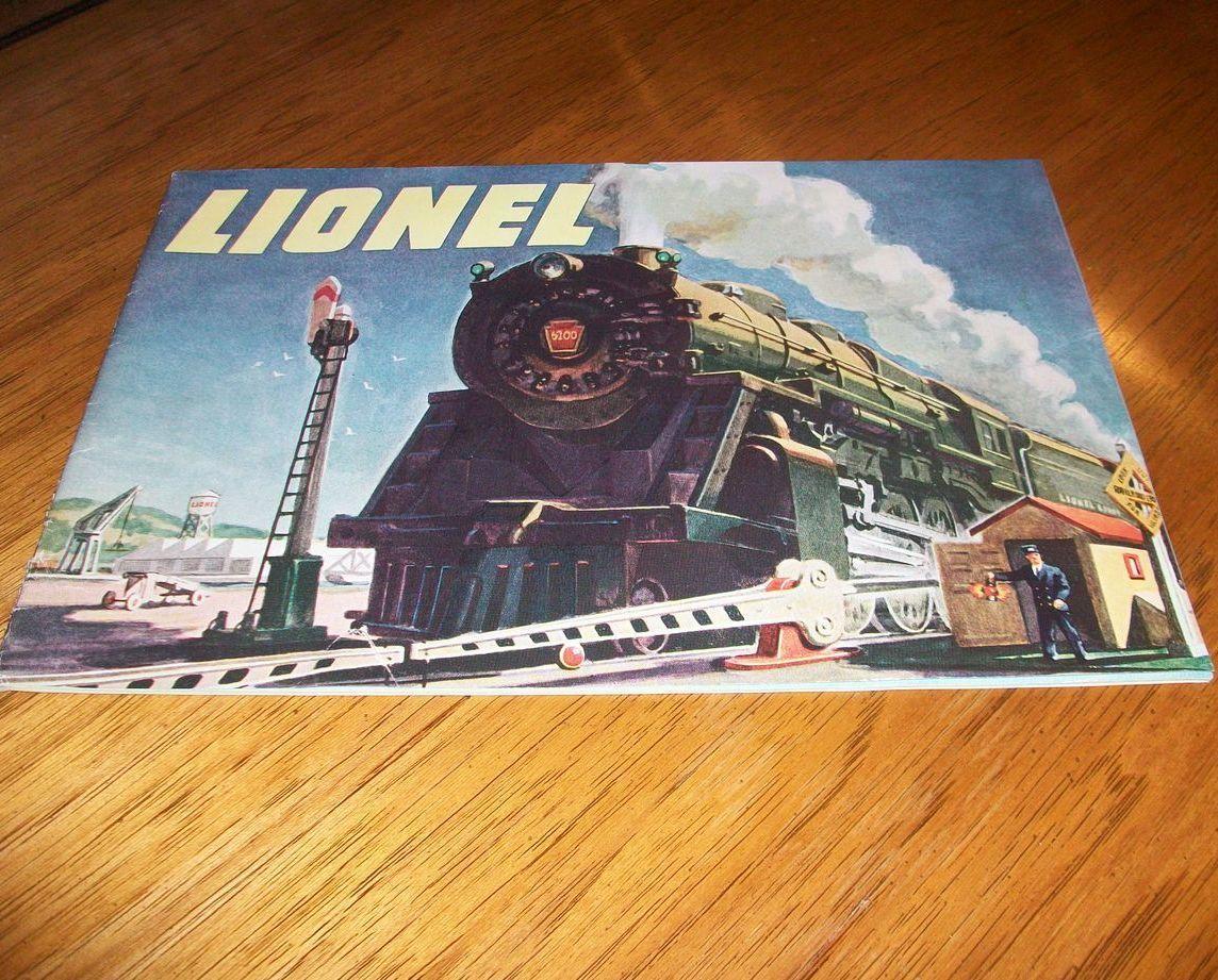 small resolution of original 1947 lionel train catalog vintage