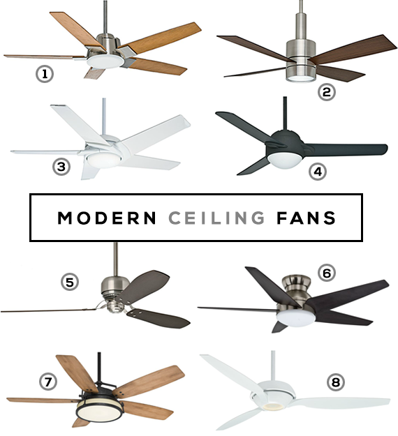 Modern Ceiling Fans With Images Modern Ceiling Fan Ceiling