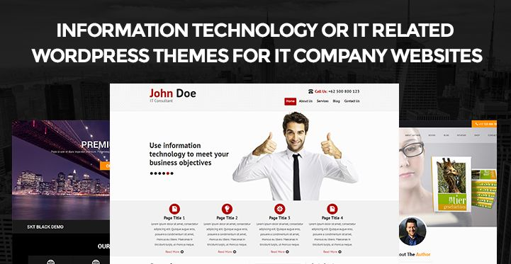 Information Technology or IT Related WordPress Themes for company ...