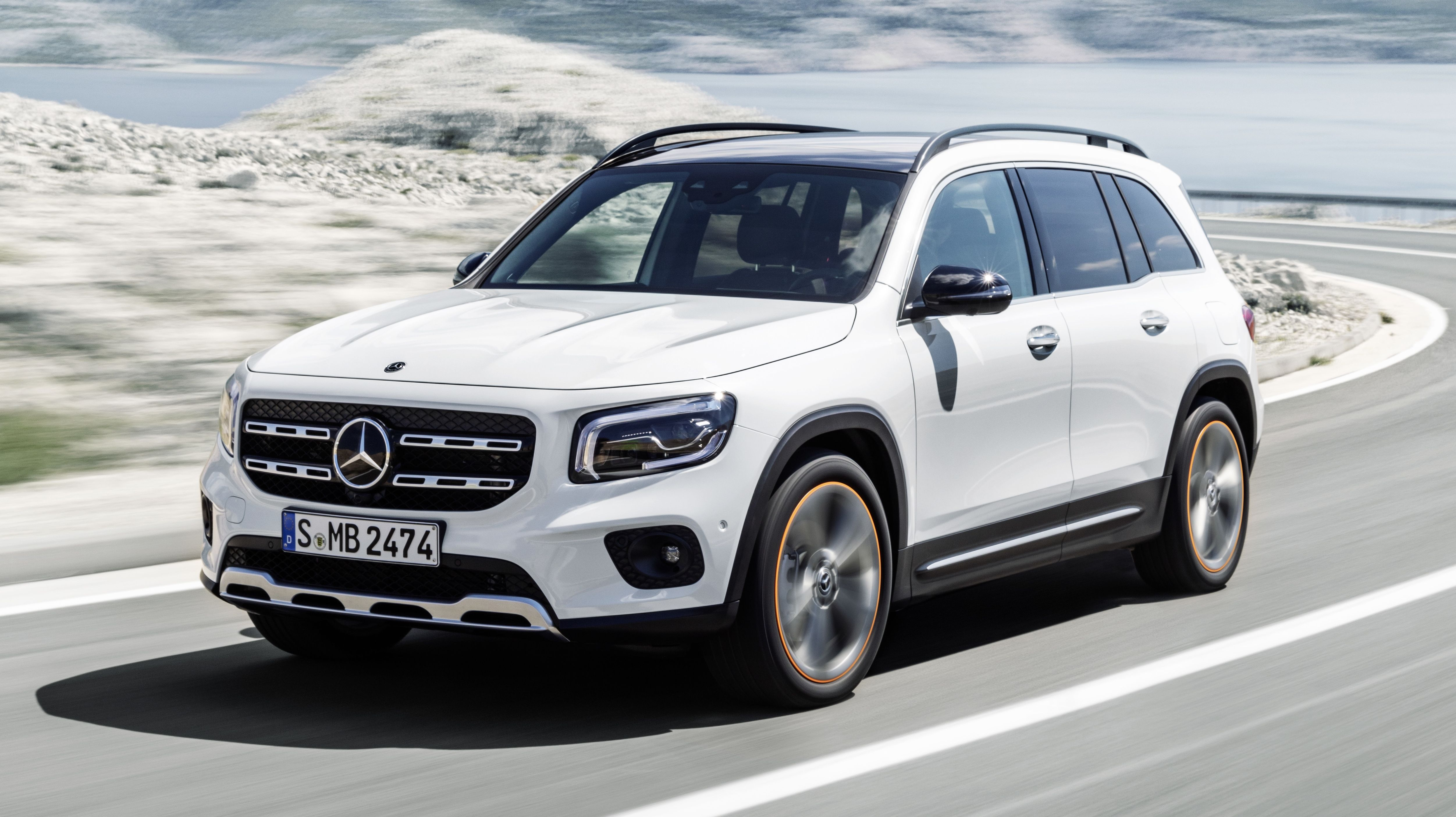The 2020 MercedesBenz GLB SevenSeater Compact Crossover