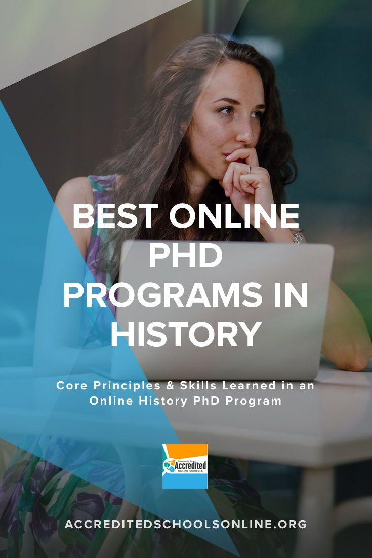 Online history phd