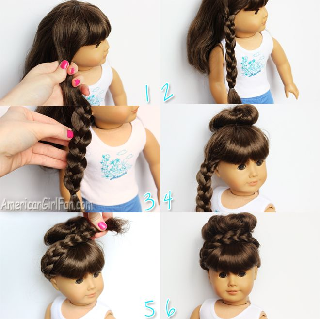 Enjoyable 1000 Images About Doll 18Quot Hairstyles On Pinterest Short Hairstyles For Black Women Fulllsitofus