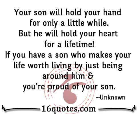 Proud Of You Son Quotes Quotesgram Quotes Shane Son Quotes