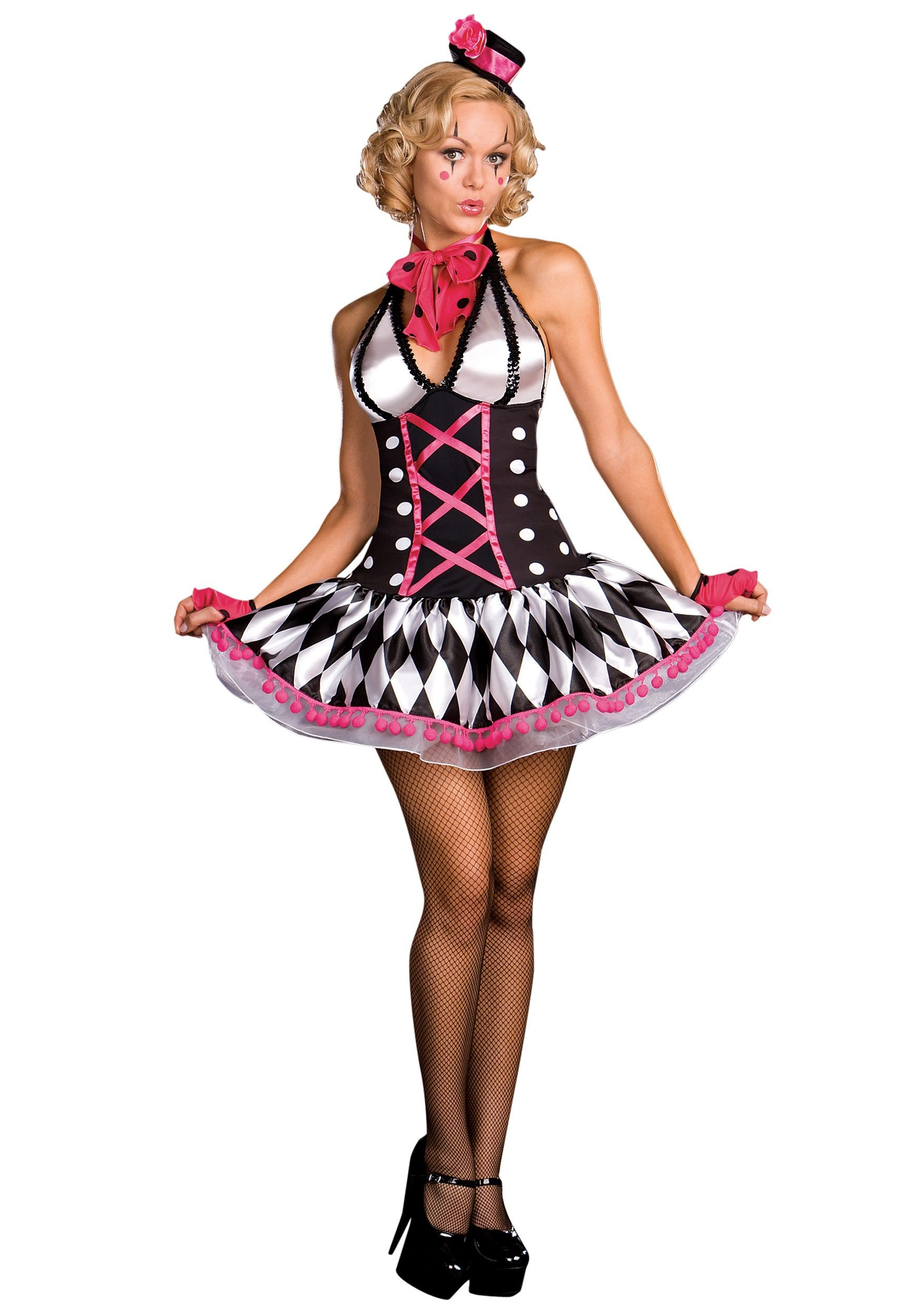 Home ladies costumes rodeo gal costume - Clown Costumes For Women Home Halloween Costume Ideas Funny Costumes Women S Sexy Clown Costume