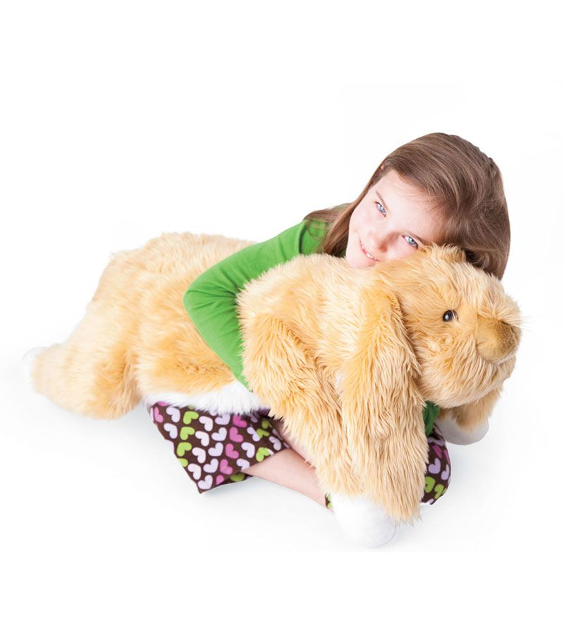 Our Big Plush Bunny Rabbit Body Pillow Is Crafted With