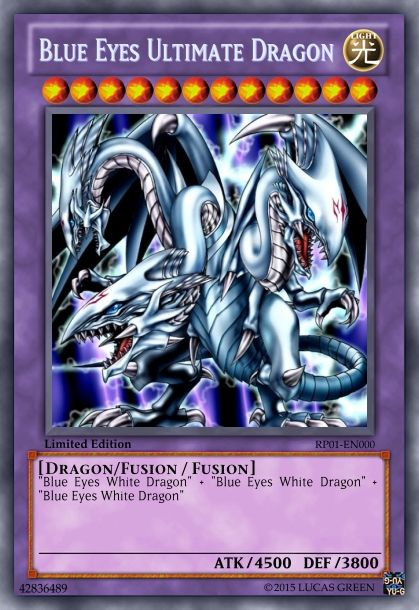 Blue Eyes Ultimate Dragon (Dark Aura)