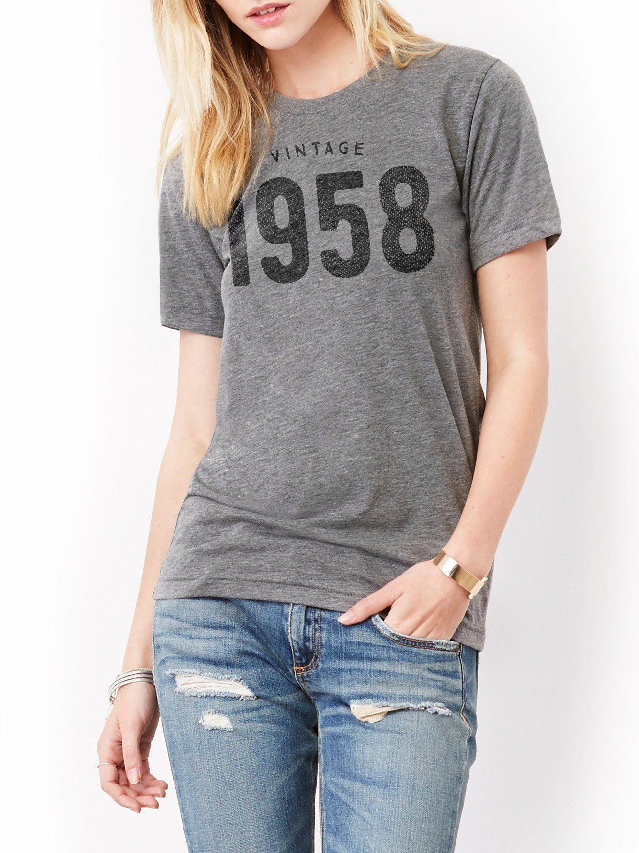 Vintage 1958 T Shirt