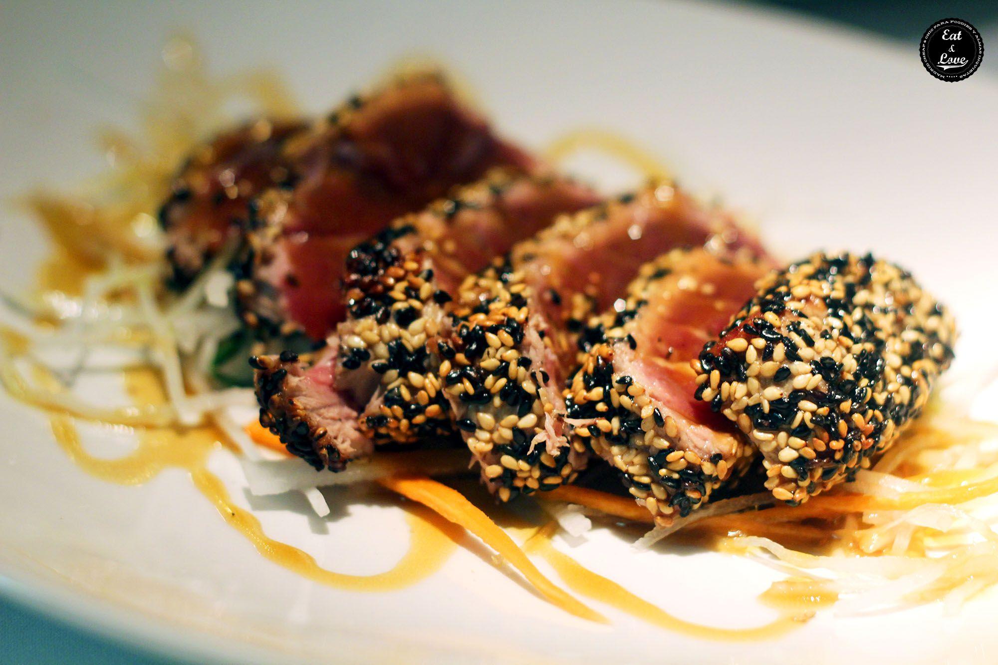 Il tonno en restaurante italiano Gioia Madrid