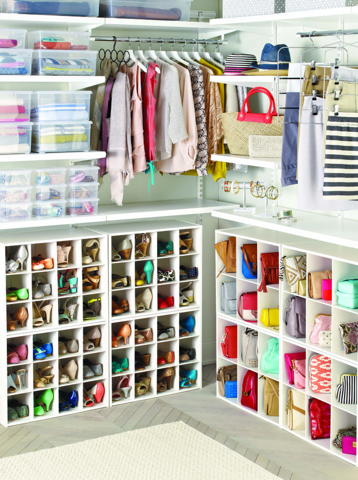 Closet Shoe Organizer Ideas Part - 36: Shoe U0026 Bag Organizer