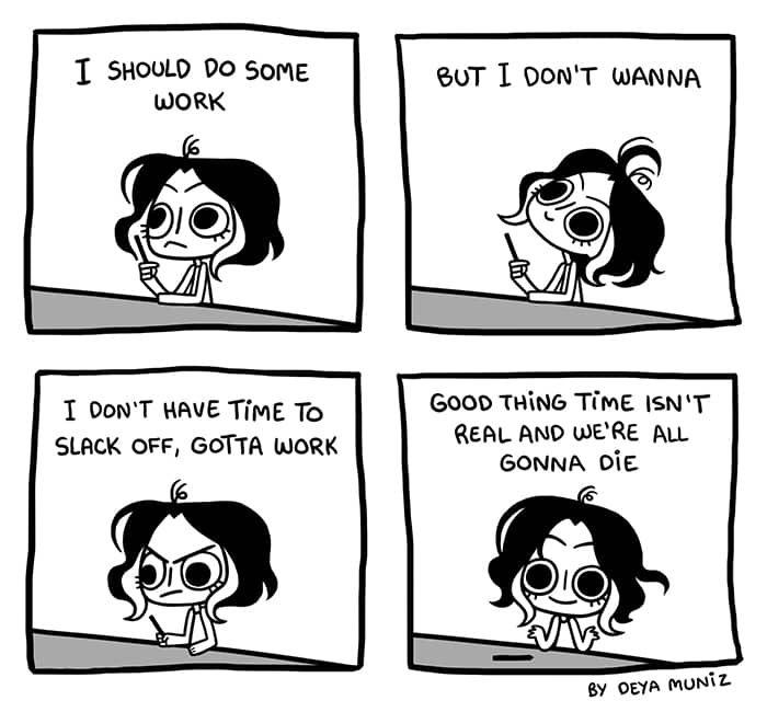 Brutally Honest Time Tapastic Comics Funny Comic Strips Comics Funny Cartoons