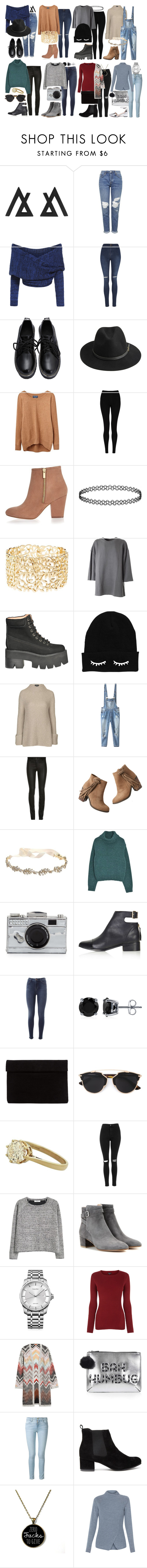 """""""Untitled #372"""" by nofarley ❤ liked on Polyvore featuring Topshop, George, BeckSöndergaard, Joules, M&S Collection, River Island, Charlotte Russe, adidas Originals, Jeffrey Campbell and Relaxfeel"""