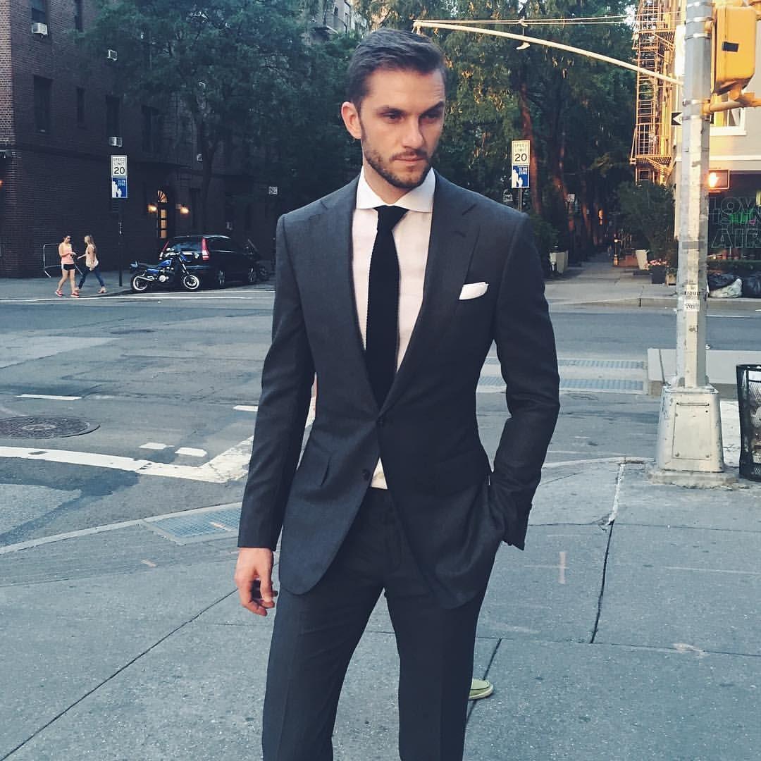 classic // menswear, mens style, fashion, suit, formal, wedding, tie ...