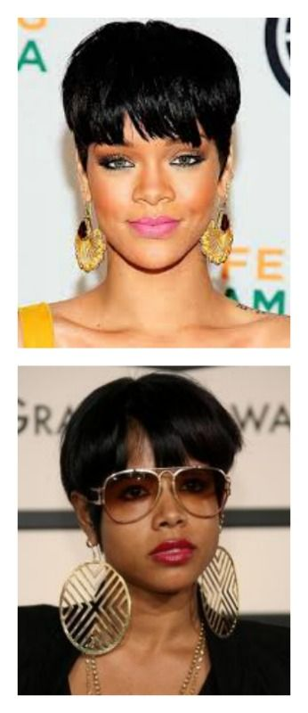 Rihanna And Kelis Revamped The Nerdy Schoolboy Bowl Cut To A Bold