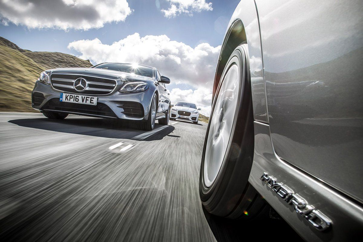 Mercedes-Benz E-class vs Jaguar XF vs Lexus GS