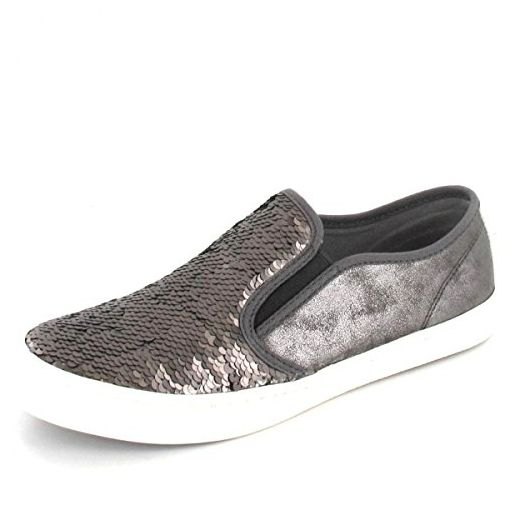 39 Und Pewter SOliver Größe Shoes Mokassins DaSlipper W9EH2YID