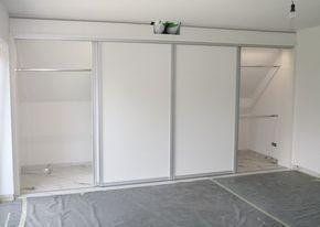 Ideen - Kleiderschrank unter der Dachschräge | Einbauschrank ...