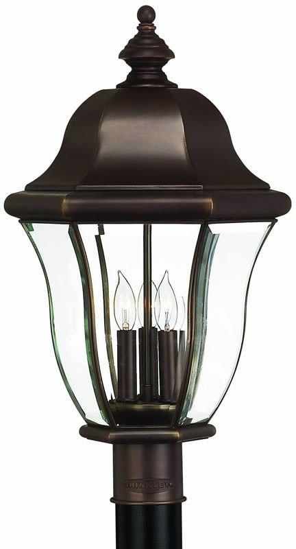 0-016855u003e22  h Monticello 3-Light Large Outdoor Post Lantern  sc 1 st  Pinterest & 22 inchh Monticello 3-Light Large Outdoor Post Lantern Copper Bronze ...