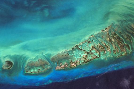 Key West Satellite Imagery, Florida, Florida Keys, USA ... Satelyte Usa Map on