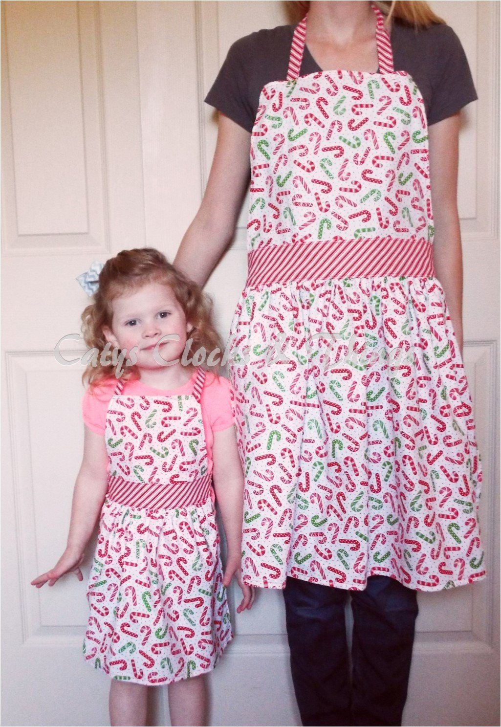 Mom daughter apron mother daughter apron matching apron