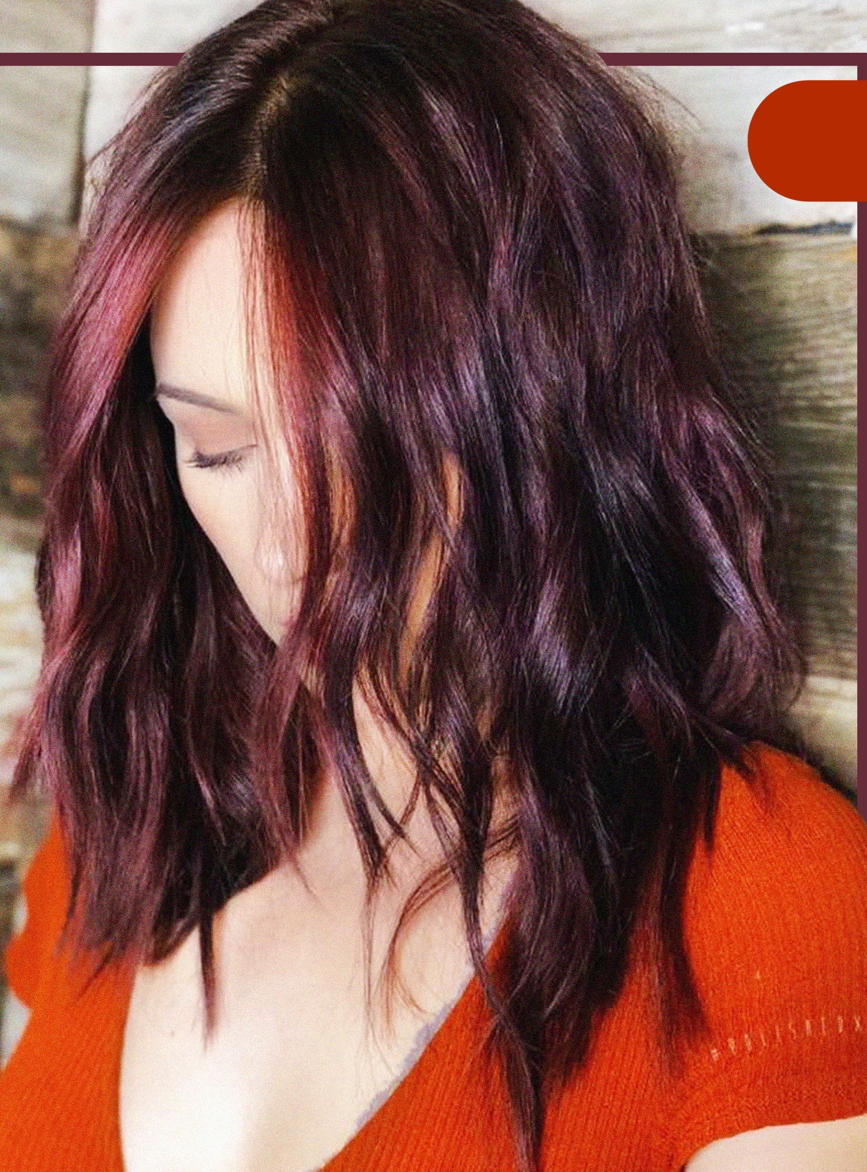 This Red Wine Hair Trend Is Almost As Good As A Glass Of Merlot Https R29 Co 2efxt6i Wine Hair Burgundy Hair Wine Hair Color