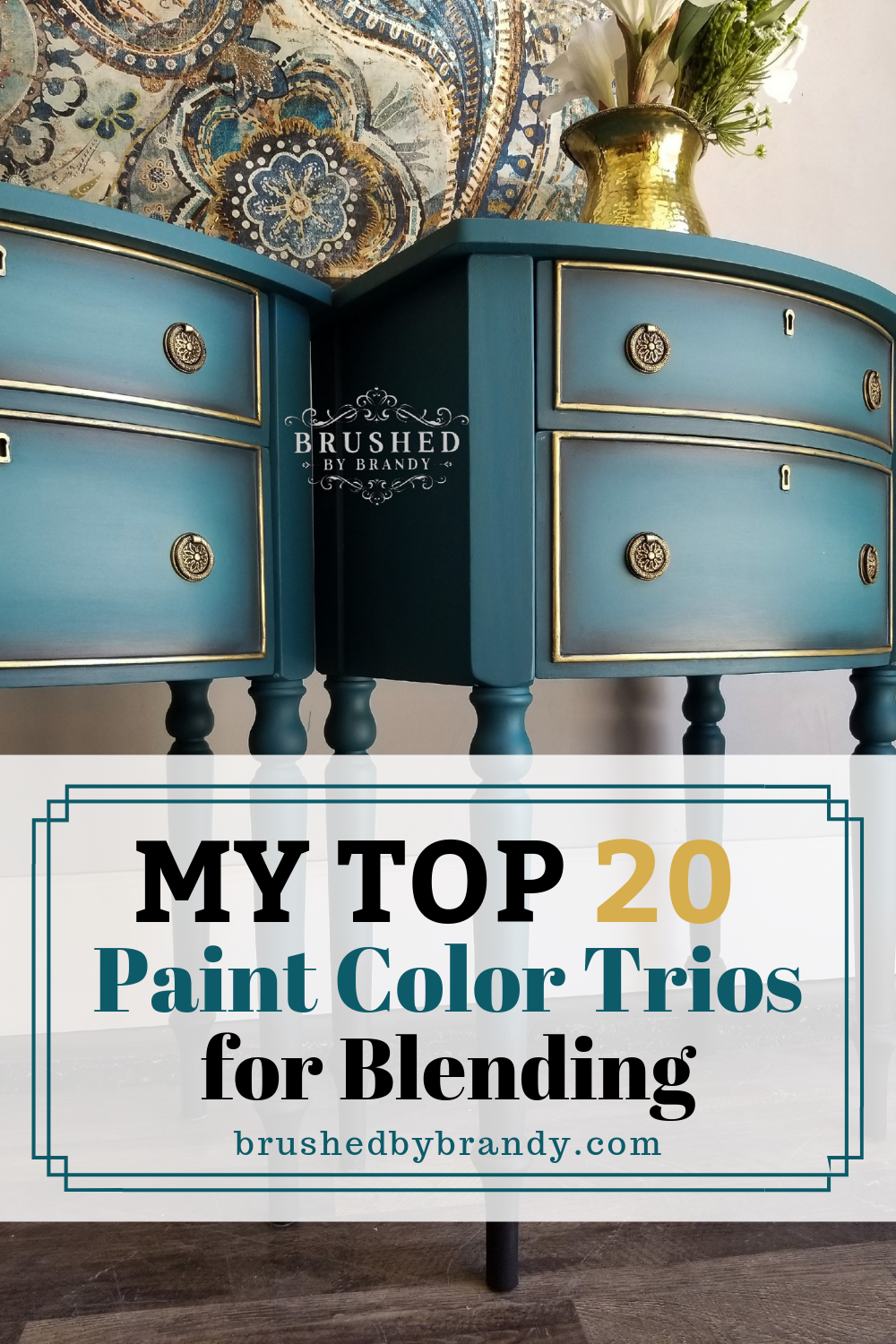 Awesome Paint Colour Choices For Blended Finishes Blendedpaintfinish Paintedfu In 2020 Painted Furniture Colors Painting Furniture Diy Furniture Painting Techniques